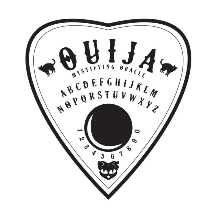 picture regarding Printable Ouija Board called Printable Ouija Board Planchette Fashionsneakers.club