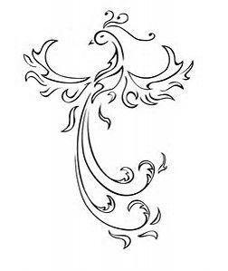 Resultado de imagen de Small Phoenix Tattoos for Women