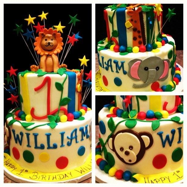 20 Best Lauchlans 1st Birthday Cake Images On Pinterest