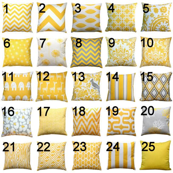 Yellow Decorative Pillow Premier Prints Corn por Modernality2