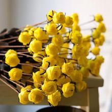 15 Köpfe/Bouquet Schaum Vintage Rose Wohnkultur Staubblätter Real Touch PE Künstliche Blumen/Pflanzen für Dekorationen für hochzeit Vase(China (Mainland))