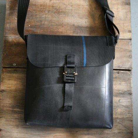 creativity, style, and sense of 'good-doing' all combine with this recycled bike tire purse .... any little bit helps :)