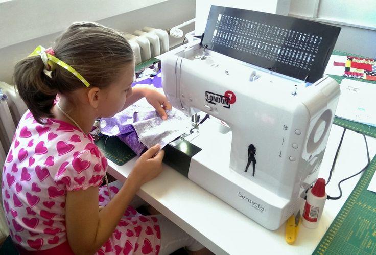 Kurz šitia na stroji pre deti - Kreatívne šitie
