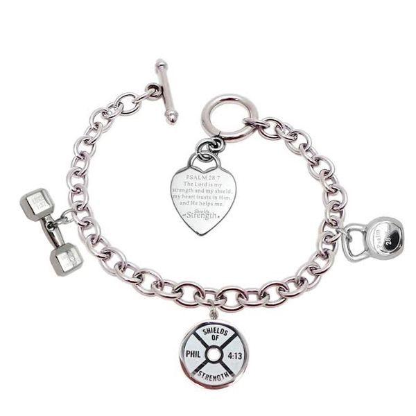 Mini 3 Charm Stainless Steel Fitness Bracelet