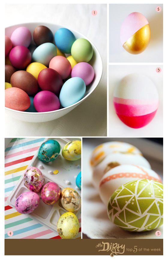 Easter egg decoration inspiration