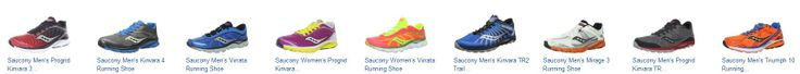 Save 40% Off Saucony Kinvara 4 Running Shoes Amazon deal of the day for 4/8/2014 only! Today only, save 40% on Saucony's Kinvara 4 running shoes for men, women, and kids. This popular, lightweight shoe features upgraded technology in the heel that provides a cushioned strike zone, plus a flexible, seamless upper that promotes a natural stride. Choose from multiple colors.