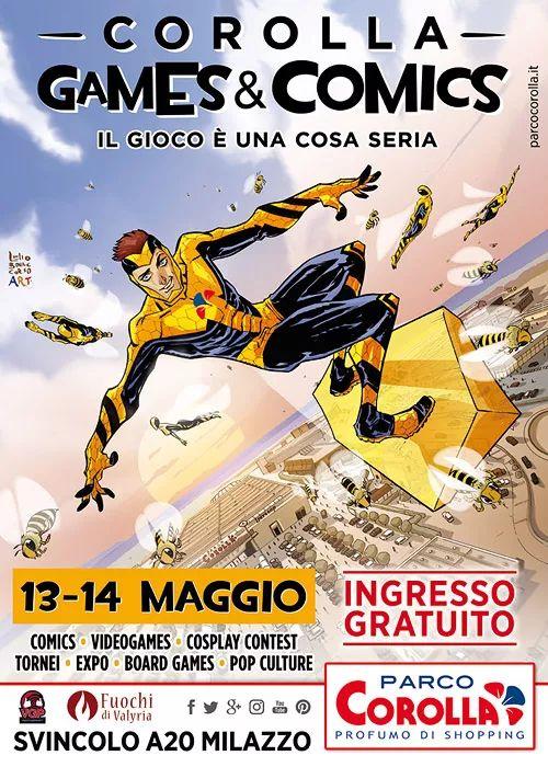 Corolla Games & Comics #Comics #fumetti #games #videogames #cosplay #fantasy #movies