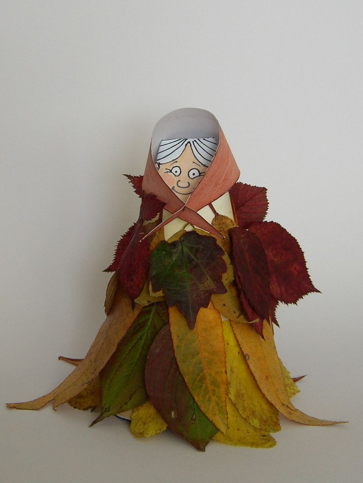 Ősz -anyó // Kék madár- látogass be hozzám! -- Fall granny