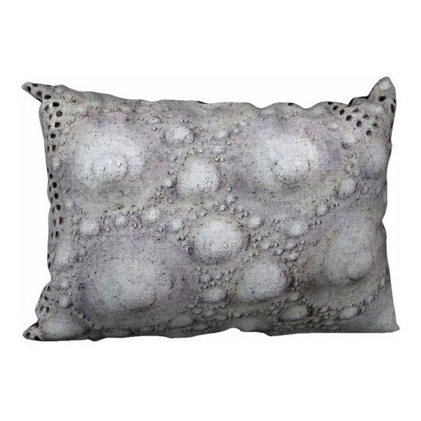 Gray Pillow Cover Sea Urchin Pillow Case Throw Pillow Modern... ($30) ❤ liked on Polyvore featuring home, home decor, throw pillows, gray throw pillows, grey throw pillows, canvas home decor, ocean home decor and grey toss pillows