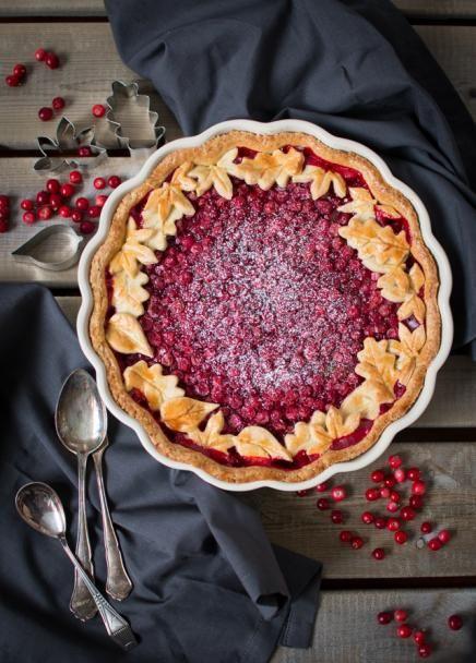 Lingonberry pie (puolukka pirakka)