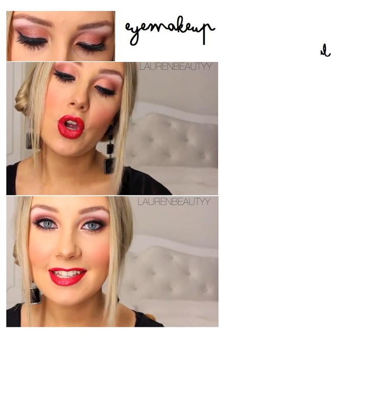 LAUREN MAKEUP, EYEMAKEUP, dramatic, pink, golden, chirstmas makeup,