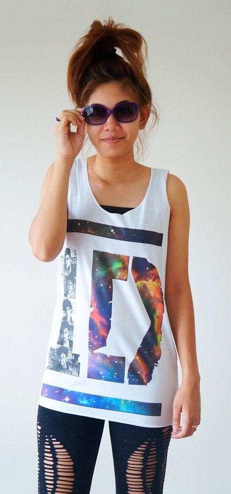 S M L   1D Shirts Galaxy Shirts One Direction by cottonclick, $16.00 OMG I WANT THIS SOSOSOSOSOSOSO BAD