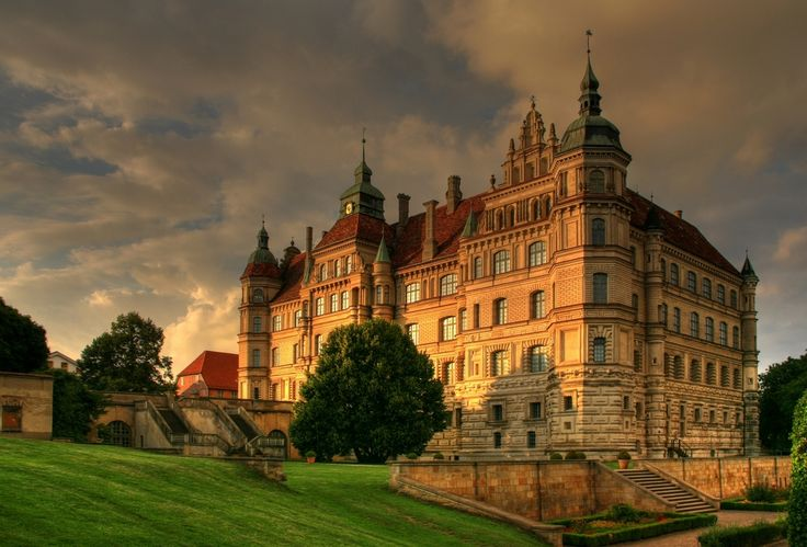 Schloss Güstrow in the city of the same name, south of Rostock in Mecklenburg-Vorpommern, Germany