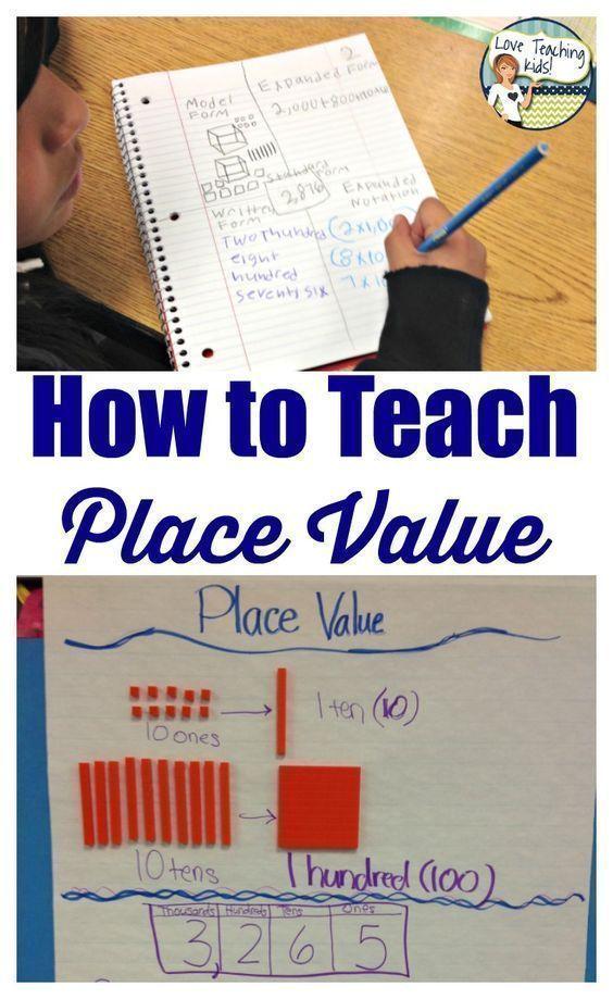 17 best ideas about place value chart on pinterest