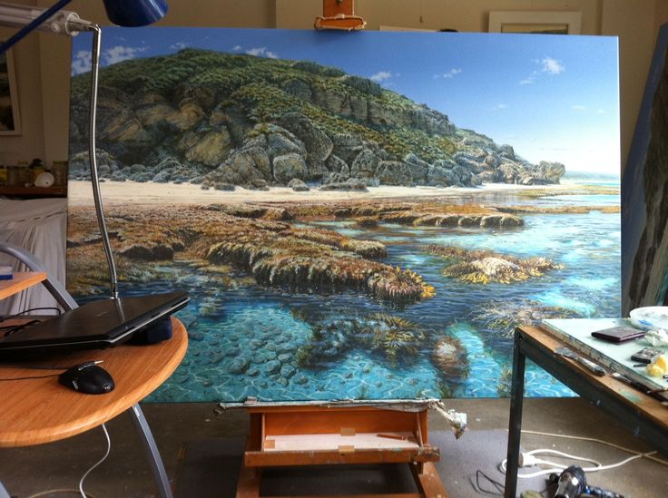 Sam Broadhurst's studio