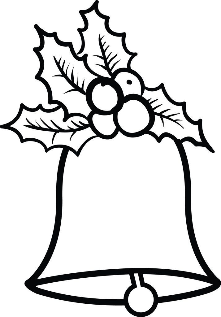 Christmas Bells Coloring Page 2 Christmas Bells Drawing Free Christmas Coloring Pages Christmas Coloring Pages