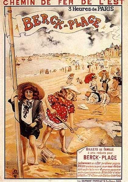R. Tournon, Berck Plage, 1900 Pas- de- Calais  Région : Nord- Pas- de- Calais