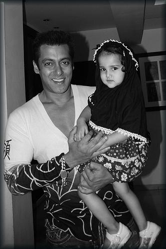 Salman Khan and Marziya Shakir