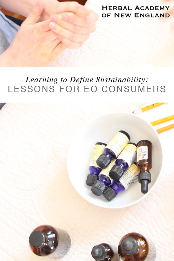 Did you know that hundreds, and sometimes thousands, of pounds of plant material are needed to produce just 1 gallon of essential oil? How do you define sustainability when it comes to EO use?