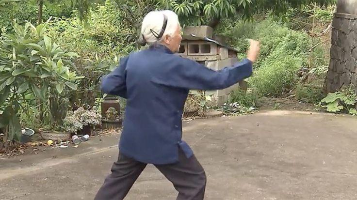 Σούπερ γιαγιά διδάσκει κουνγκ φου στα 93!