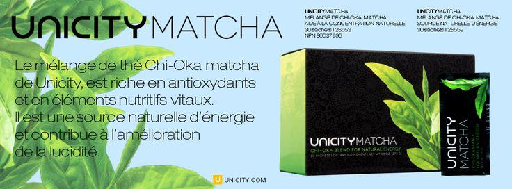 DES ALTERNATIVES NATURELLES POUR SOUTENIR ET MAINTENIR LA DURABILITÉ NATURELLE DE L'ÉNERGIE ET AIDER À L'ATTENTION ET À LA CONCENTRATION NATURELLE. Avec Unicity Matcha vous aurez des heures de plaisir et de bien-être... Unicity Matcha peut être servi chaud ou froid.  Pour en savoir plus ou pour obtenir un échantillon gratuity, contactez : Roxanne Poliquin, distributrice franchisée Unicity, License no 96964802, au 514-705-8612 ou écrivez à premiumedik@gmail...
