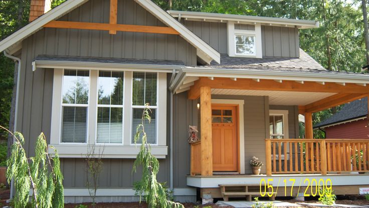 25 best ideas about grey exterior on pinterest - What type of wood for exterior trim ...
