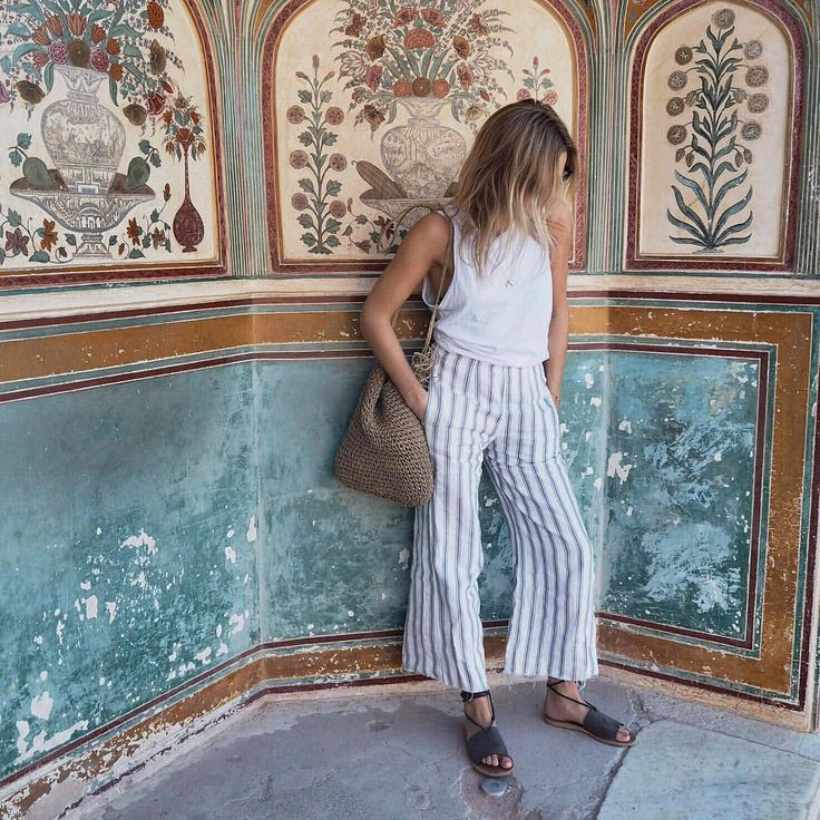 "4,621 Likes, 31 Comments - Faithfull the Brand (@faithfullthebrand) on Instagram: ""Jaipur, India • @lucywilliams02 wears the #TomasPants while exploring the forts & castles of Jaipur…"""