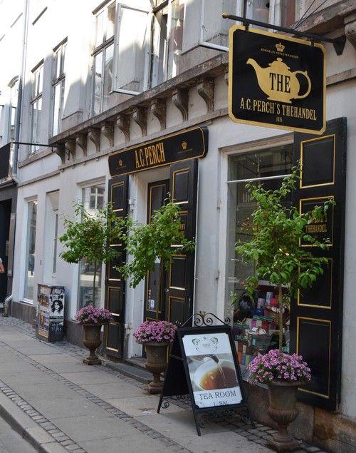 Perchs tea shop, best in Copenhagen! My favorite tea in Denmark. Great tins.