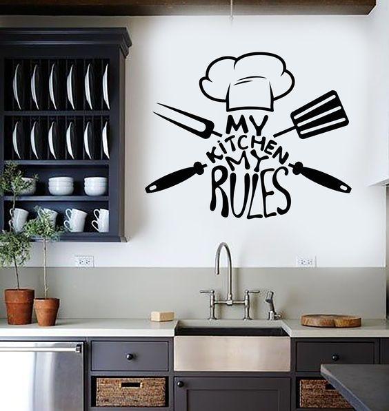 My kitchen My rules   Interior design   Pinterest   Cucina, Kitchens ...