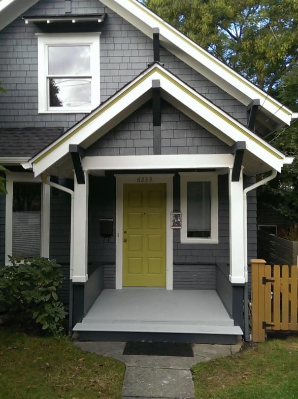Great color combination for a home exterior.
