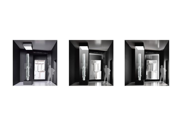 LUOISE NEVELSON EXHIBITION TYPE: ART EXHIBITION, DESIGN PROPOSAL LOCATION: VIA DEL CORSO, ROME PROGRAM: 16 ROOMS, MORE THEN 80 ARTWORKS, 1.000 m² DESIGN: 2013 CLIENT: FONDAZIONE ROMA MUSEO DESIGN TEAM: MICHELE CALTABIANO, SAEED AMIRZADEH, MATTEO BIANCHI, DOMENICO FARACO