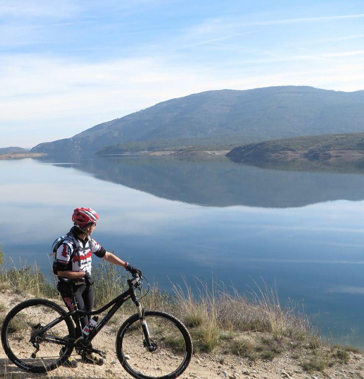 El Atazar ... Con mi bici