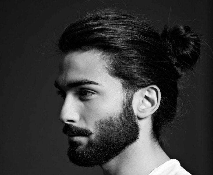 Стрижка с длинными волосами мужская