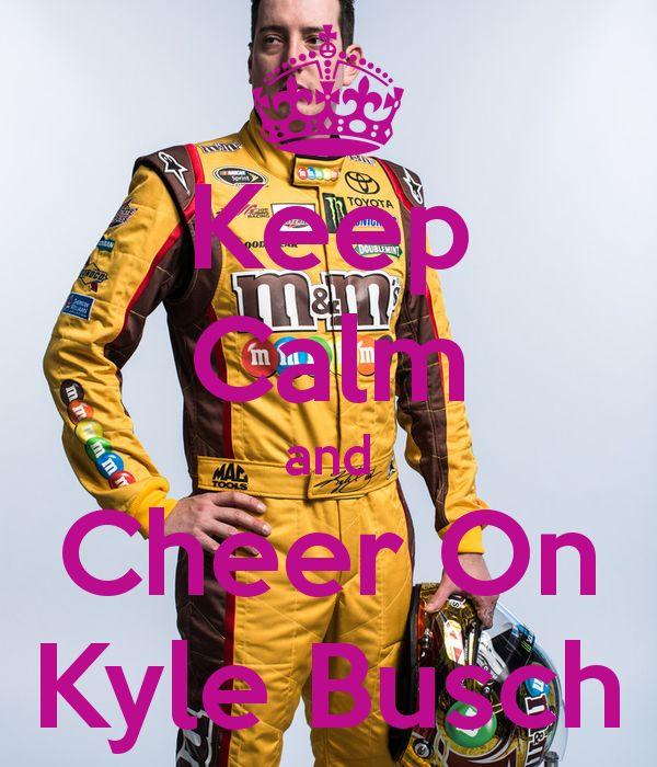 Kyle Busch my favorite NASCAR driver!