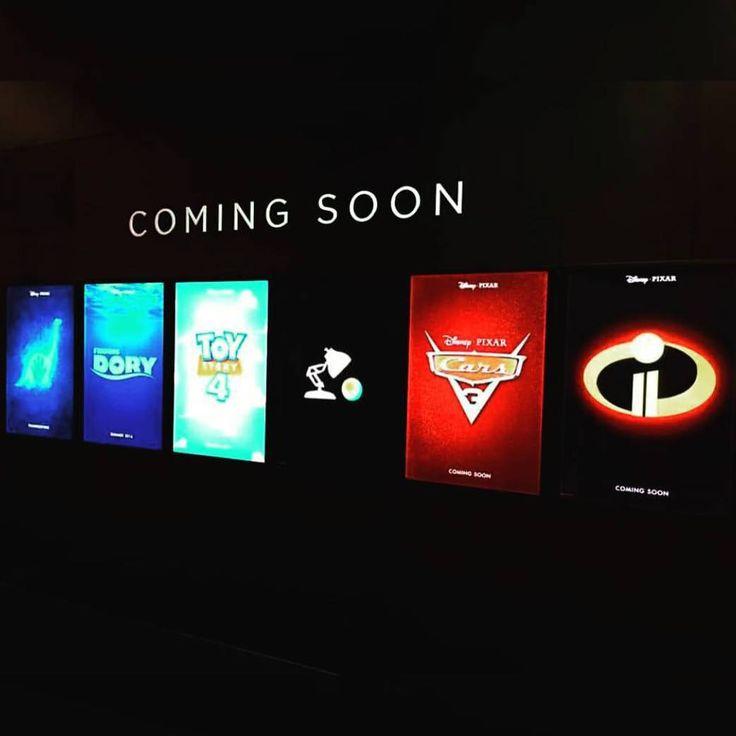 Upcoming Pixar Movies Posters At D23