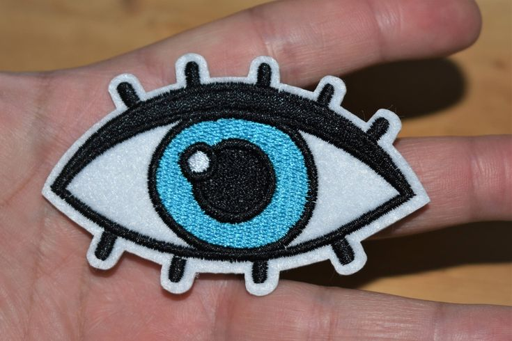 Excited to share the latest addition to my #etsy shop: Blue eye-Evil Eye - Iron stick Embroidered patch/applique For T-Shirts,Hats,Jackets,Pants, Vintage Collection supreme quality. http://etsy.me/2EANktc #supplies #birthday #easter #hatmakinghaircrafts #embroideredpat