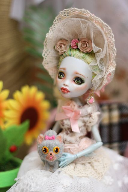 Monster High Lagoona Blue custom doll repaint photography by Surla.