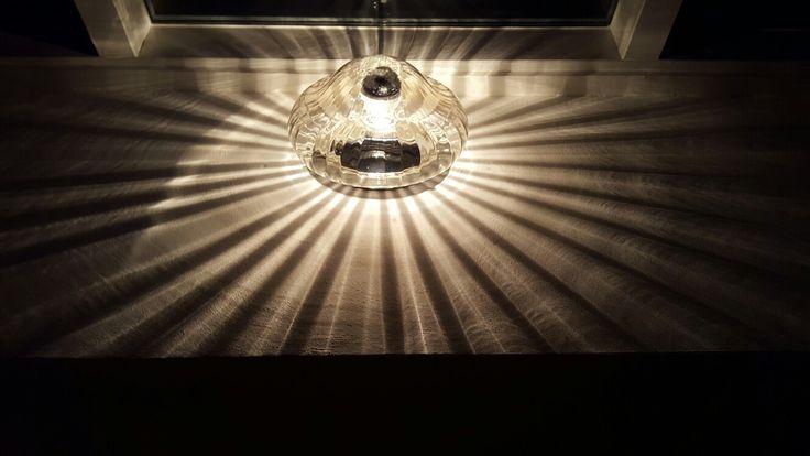 Plafondlamp 50ties