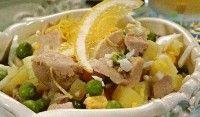 Картофельно-грибной салат