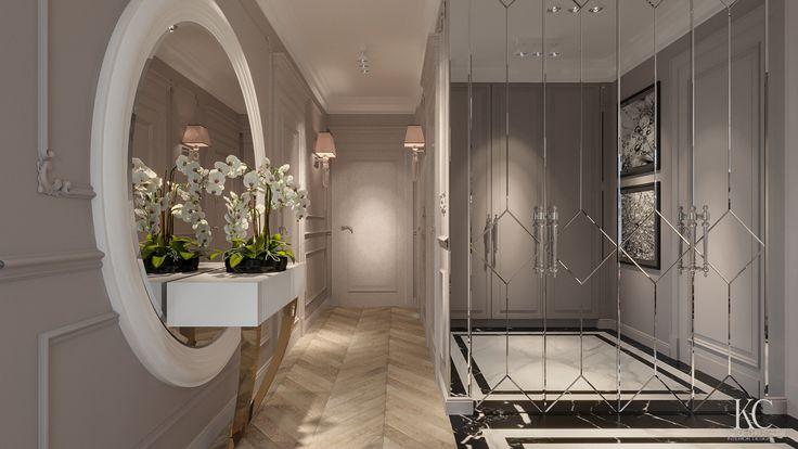 Luxury Hall designed by Krzysztof Chrustalew