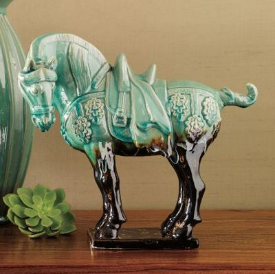 Reproduction Tang dynasty horse - would look cute on a table