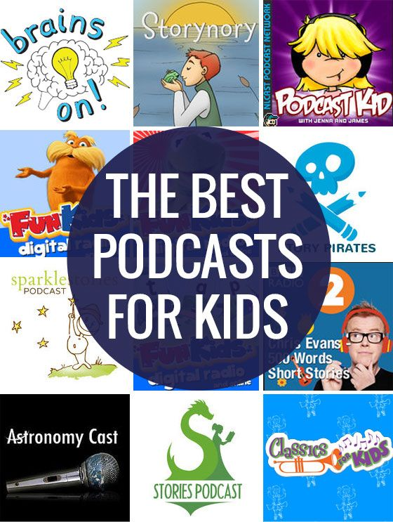 Ten of the Finest Podcasts for Youngsters