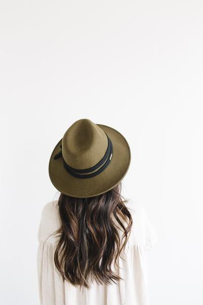 Lettie   Flat Brim Hat   Gigi Pip – GIGI PIP