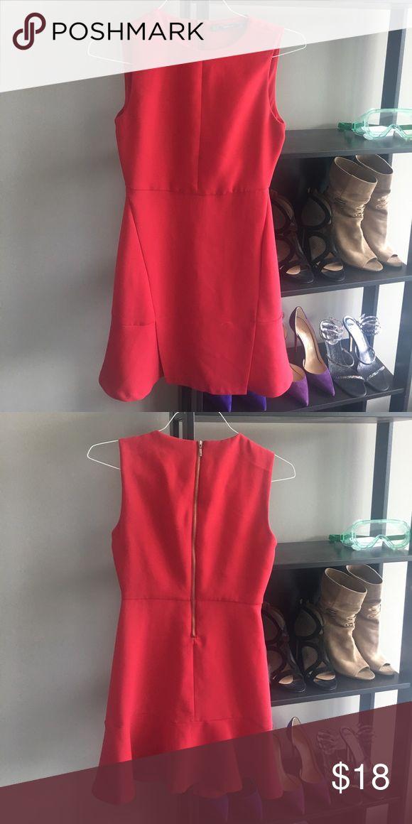 Zara red dress Elegant Zara Dresses