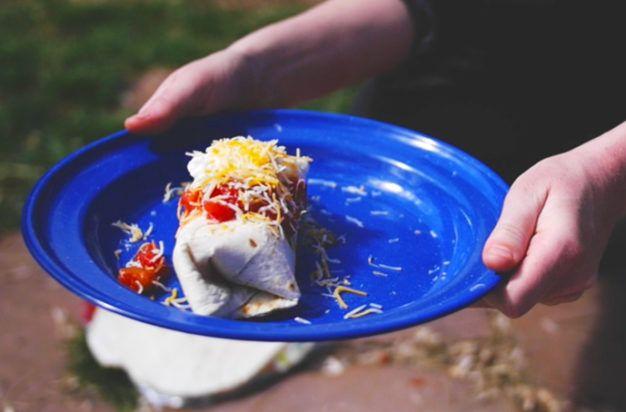 How to Make Camp Breakfast Burritos