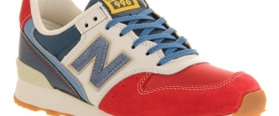 The Surprising Shoe That Will Transform Your Casual Fridays- not New Balance… lol… Nike. Adidas. etc