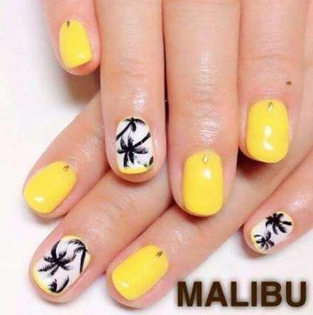 Gel manicure ideas beach nail polish 17+ New ideas