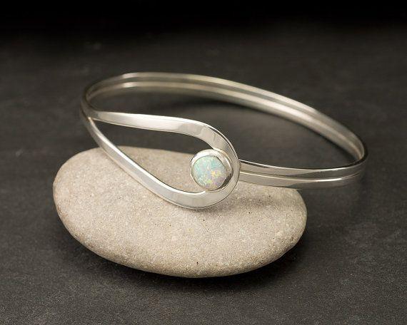 Sterling Zilver Opal armband Sterling zilveren klink door Artulia