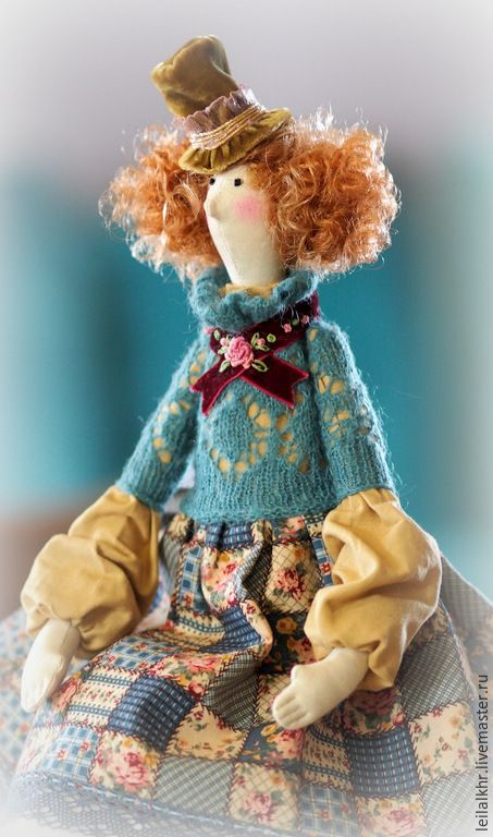 """Купить Тильда """"Мадемуазель Лулу"""" - разноцветный, подарок, подарок девушке, подарок женщине, подарок подруге"""