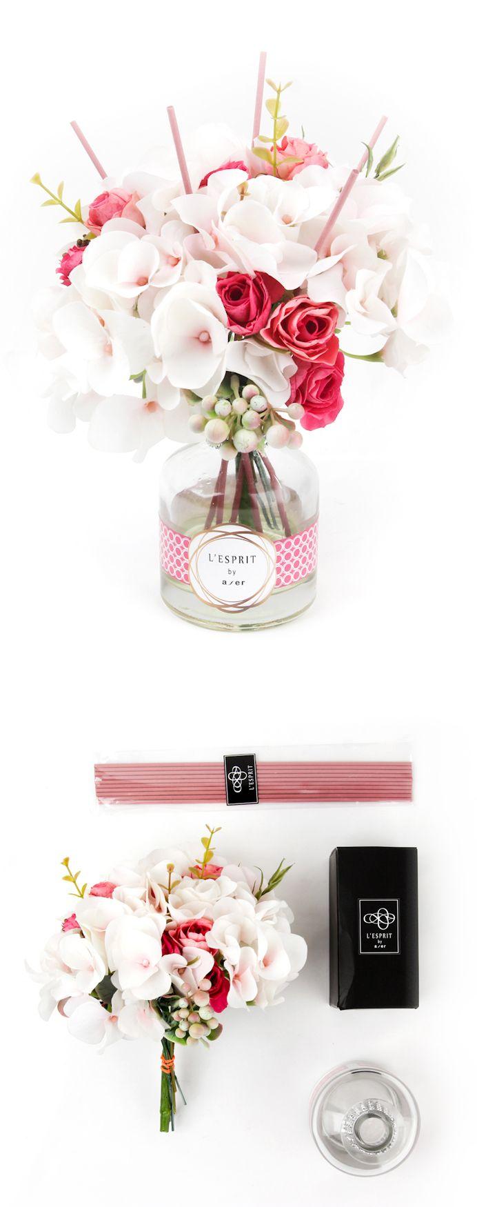 Cute idea for a DIY reed diffuser!